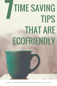 7 Eco-Friendly Tips that Save Time