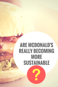 Are McDonald's Really Becoming More Sustainable?
