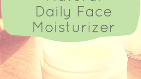 How to Make a Daily Face Moisturizer