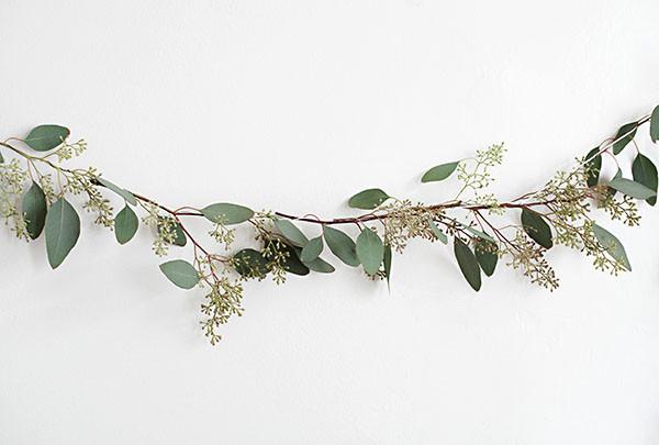 DIY Native Eucalyptus Garland