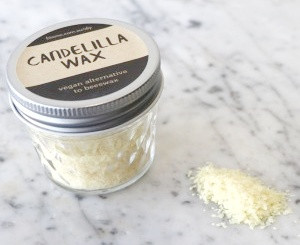 Candelilla Wax as a vegan substitute for beeswax
