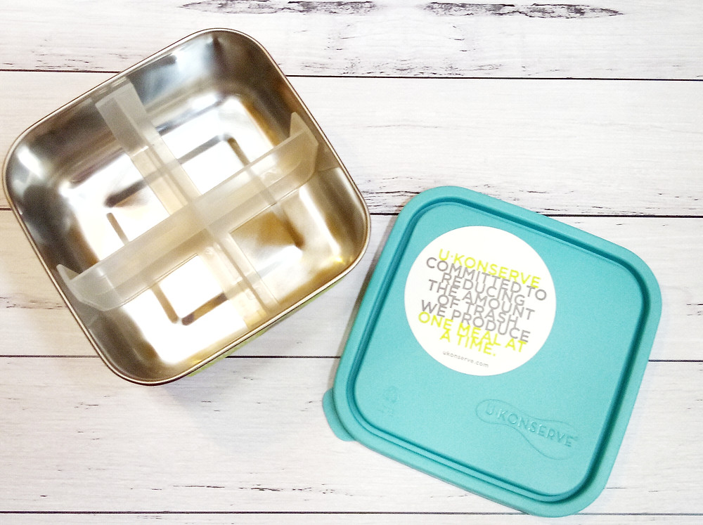 4 compartment snack container