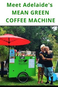 Meet Adelaide's Mean Green Coffee Machine