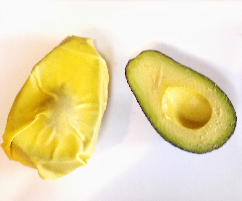 Beeswax Wrap for Saving Avocados