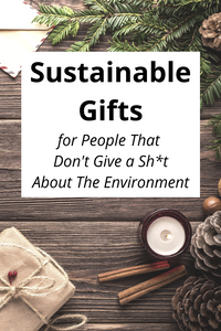 Sustainable Gifts for People Who Don't Give a Sh*t About The Environment