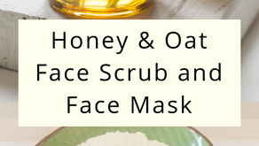 Soothing Oatmeal Face Mask and Scrub