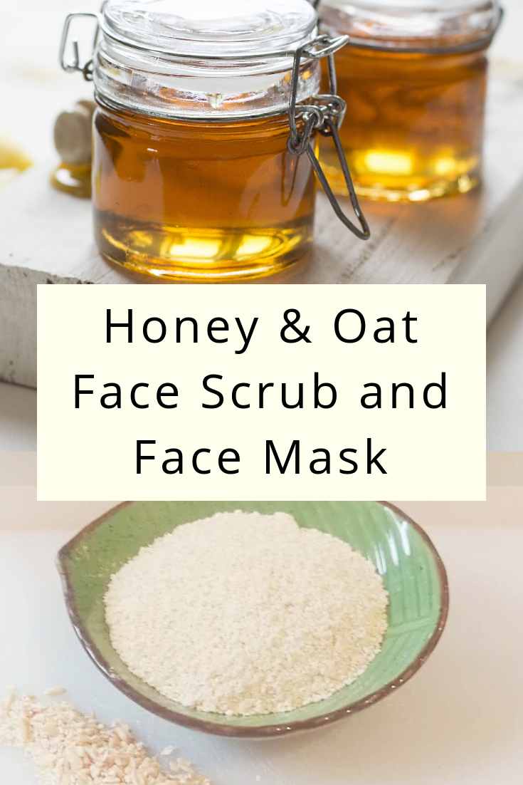Honey And Oatmeal Face Scrub And Mask