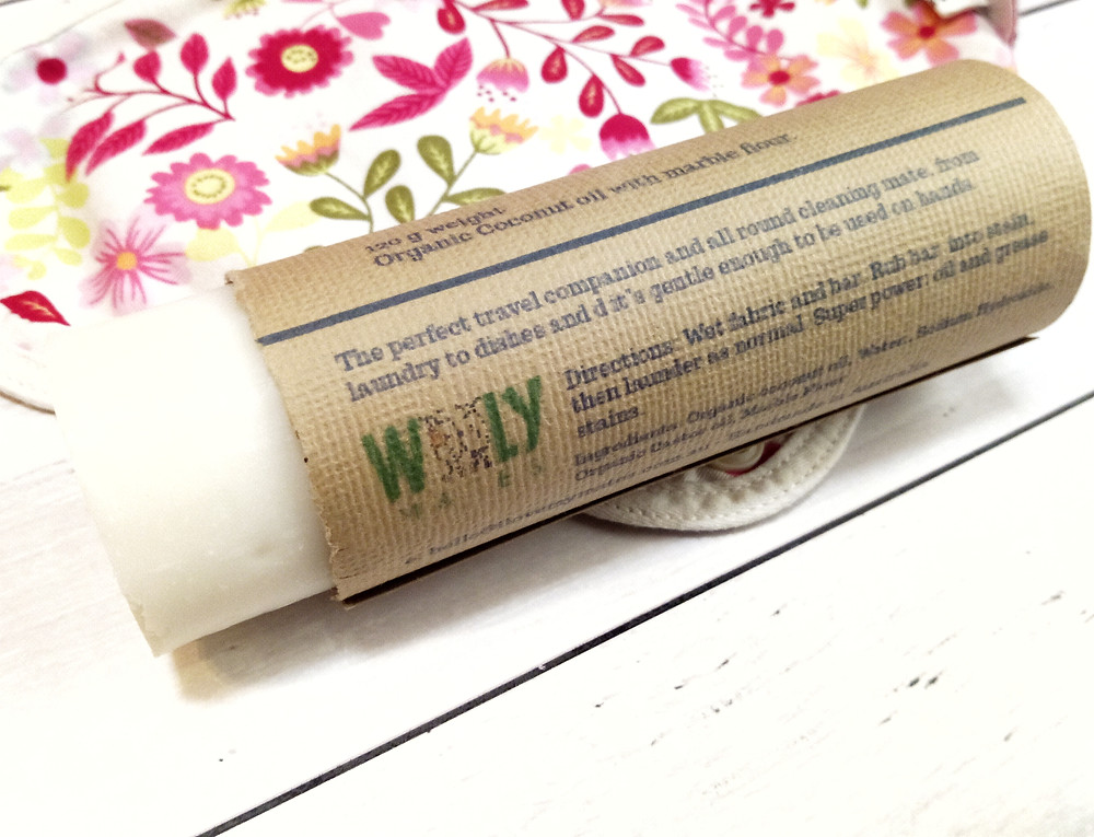 Zero Waste Laundry Bar and Stain Remover