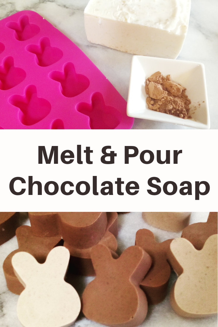 How to Make Melt and Pour Chocolate Soap
