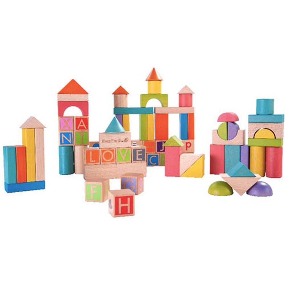 Sustainable building block toy