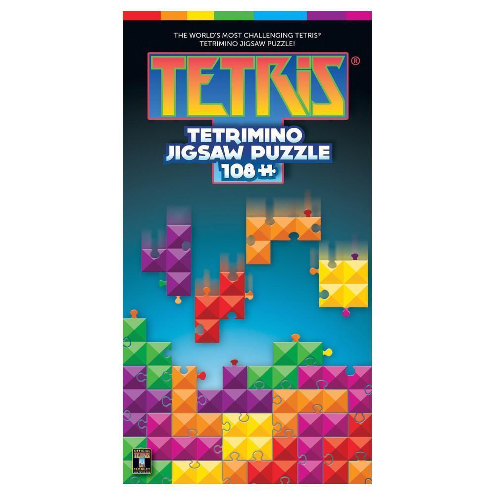 Battery free tetris puzzle