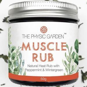 natural muscle rub balm