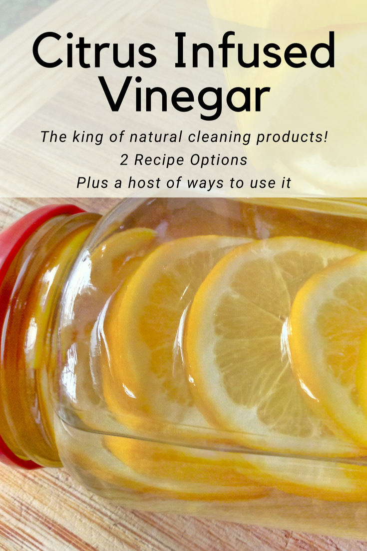 Make Your Own Citrus Infused Cleaning Vinegar