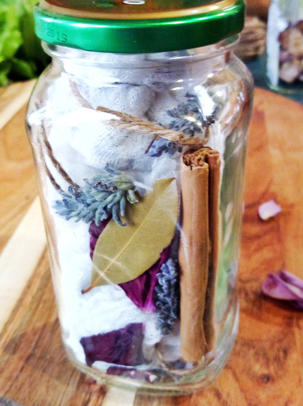 DIY botanical drawer sachets store or gift