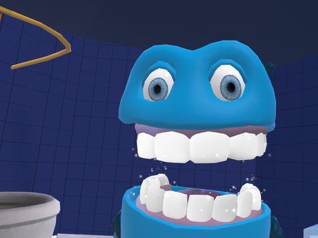 Clean teeth with BrushUP VR