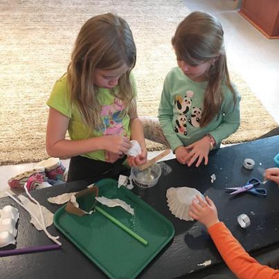 FernLeaf Community Charter School Children doing crafts