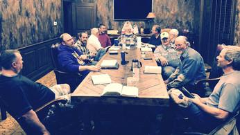 Men's Thursday morning Bible study