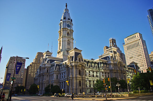 Philadelphia City Hall - Image by Antoine Taveneaux