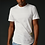 White True Hills Elongated Tee Front