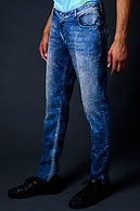 True Hills Men's Cloud Wash Denim