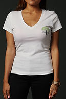 True Hills Basic Women's T-Shirt V-Neck