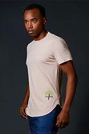 True Hills Elongated T-Shirt Crew Neck