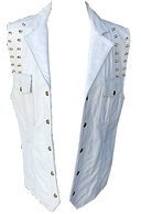 Studded Cowhide Leather Vest