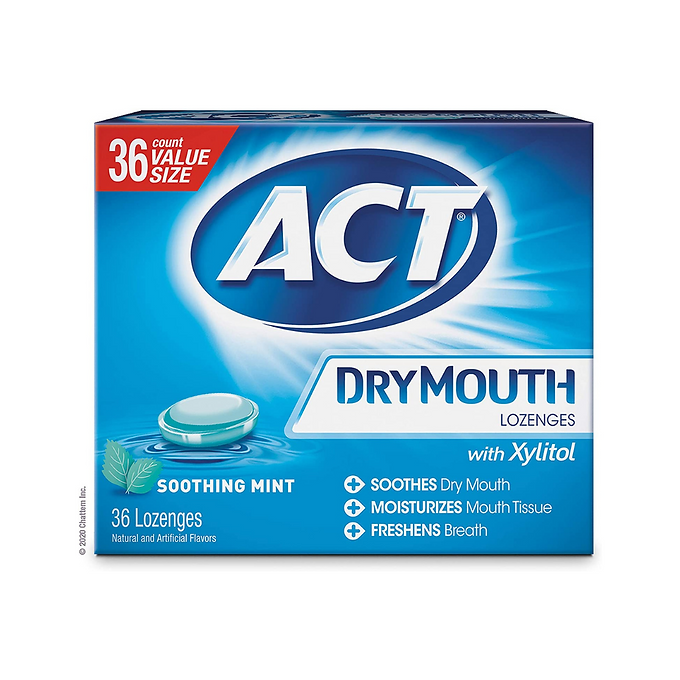 ACT DRY MOUTH Peppermint