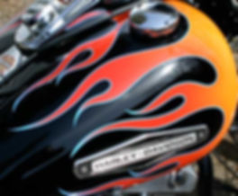 Airbrushed flames and graphics in Southern Ontario.Toronto, Kitchener, and London.