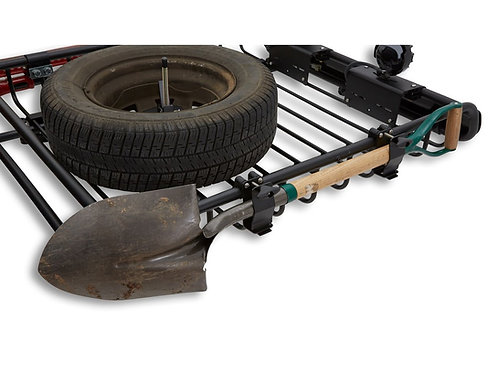 YAKIMA   Axe/Shovel Bracket SECURES SINGLE AXE OR SHOVEL TO ANY WARRIOR BASKET