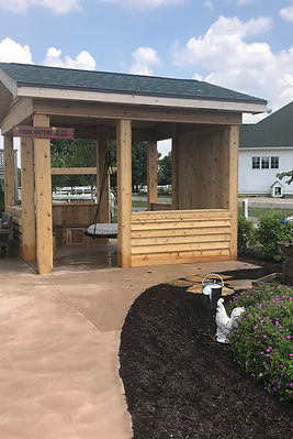 Sensory Garden Classroom & Swing