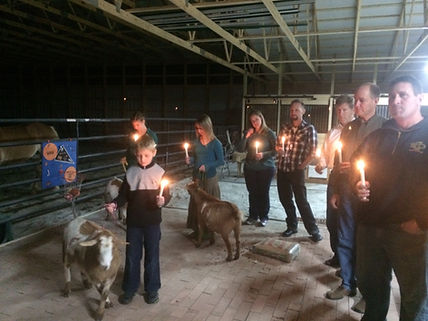 Barn Completion Blessing