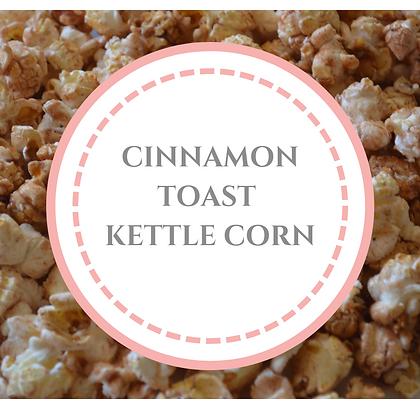 Cinnamon Toast Kettle Corn