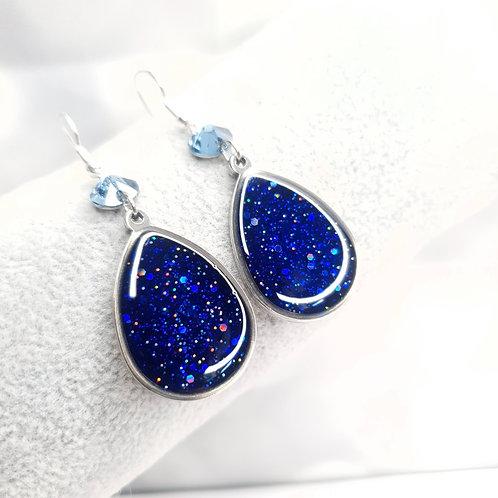 Boucles d'oreille - Blue
