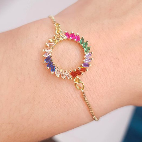 Bracelet -  Cercle Multicolore