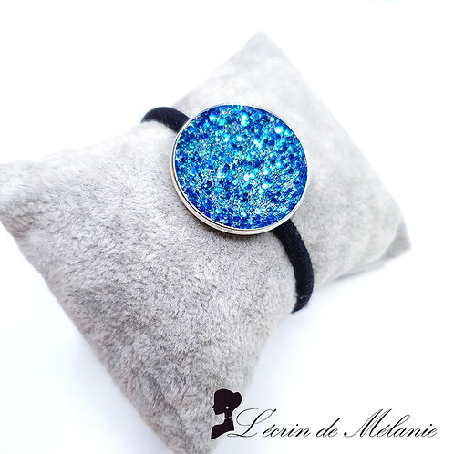 Chouchou Résine -Deux Bleus