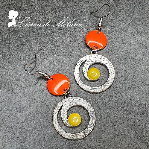 Boucles d'oreille - Sylvana