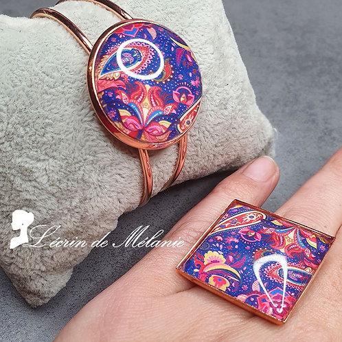 Bracelet et Bague - Tyna