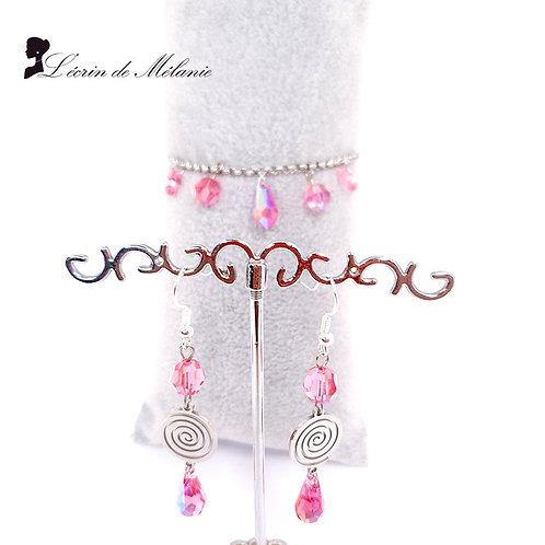 Bracelet et Boucles - Diana