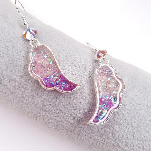 Boucles d'oreille - Ailes d'ange