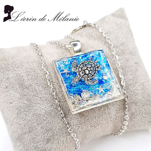 Collier - Tortue des mers