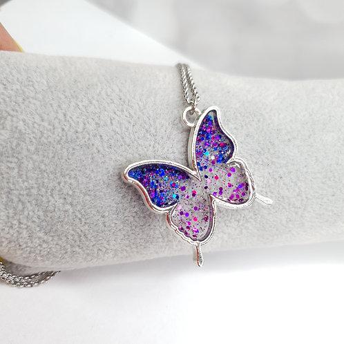 Pour Vanina  Papillon Bleu et violet