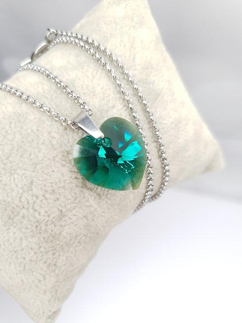 Collier - Cœur de Cristal