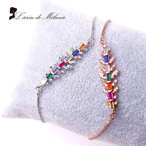 Bracelet - Branche Multicolore