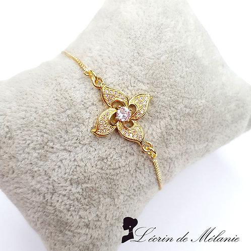 Bracelet - Fleur D'or