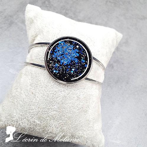 Bracelet - Fleur Bleue