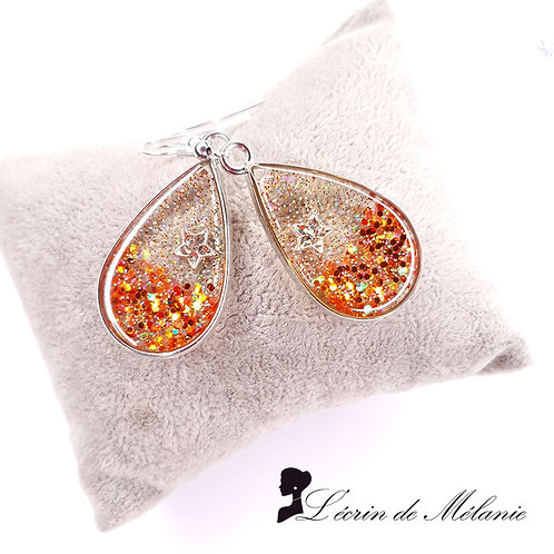 Boucles d'oreille - June