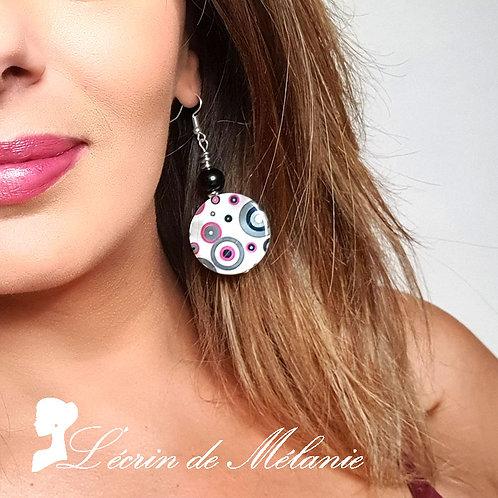 Boucles d'oreille - Seventies