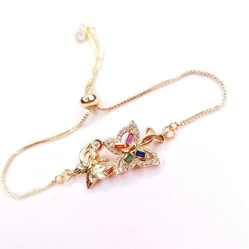 Bracelet -  Les papillons