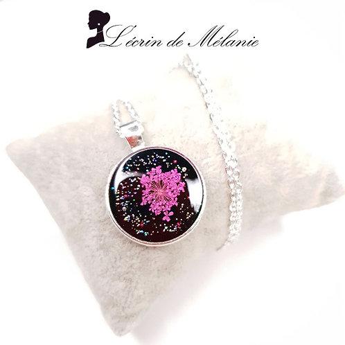 Collier - Pink Flower